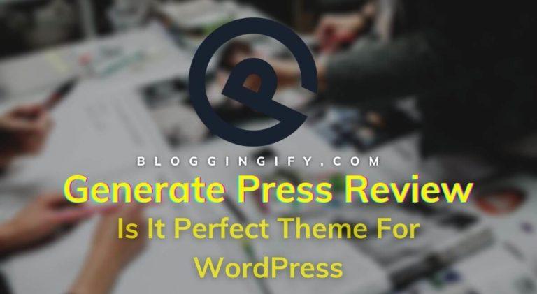 Generate Press Review 2021